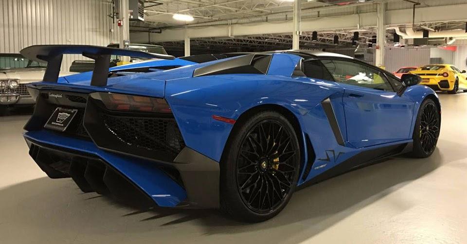 Glistening Lamborghini Aventador SV Roadster Pops Up On ...