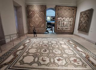 Los mosaicos del Museo Arqueológico Nacional.