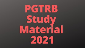 PGTRB All Subject Question papers and Study Materials
