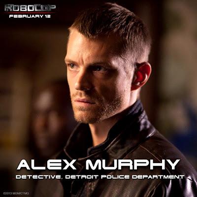 Joel Kinnaman este Alex Murphy în filmul ROBOCOP