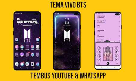 Tema BTS (K-POP) Untuk Vivo Tembus Aplikasi