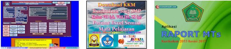 Download Aplikasi Penilaian Raport Smp Kelas 7 8 9 K13 2019 2020 Situs Guru