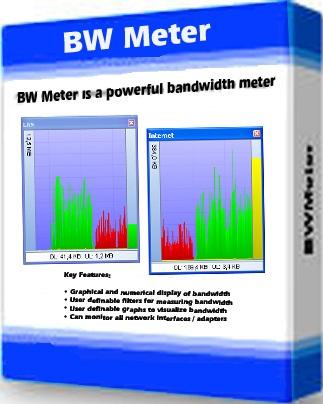 تحميل برنامج تحديد وقياس سرعة الاتصال بالانترنت BWMeter