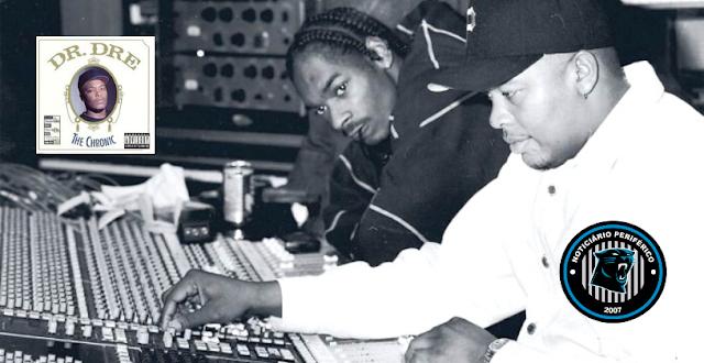 """O álbum """"The Chronic"""" do Dr. Dre será adicionado a Biblioteca do Congresso do EUA"""
