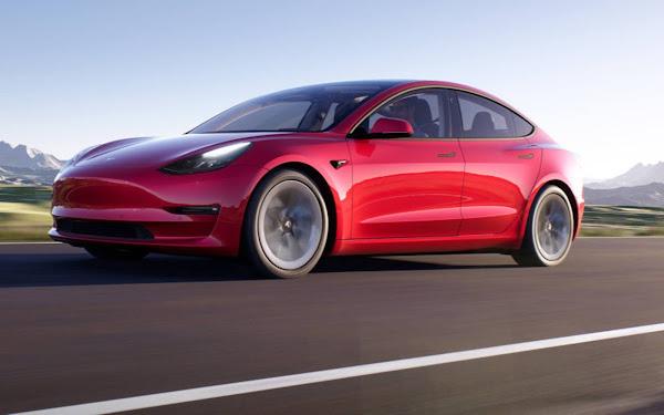 Tesla Model Y 2022 com capacidade de visão