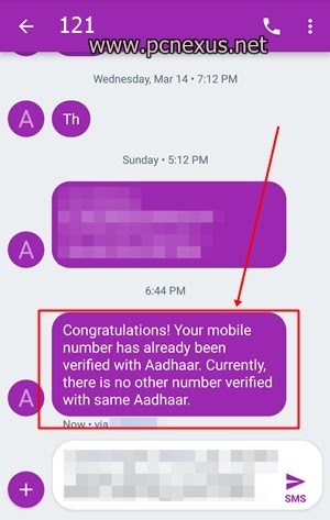 how many airtel sim on my aadhar card