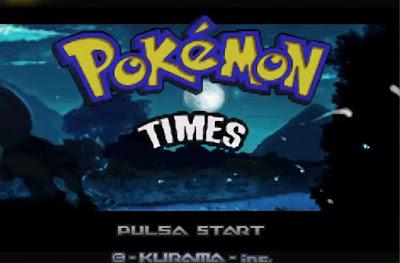 Pokemon Times para GBA Imagen Portada