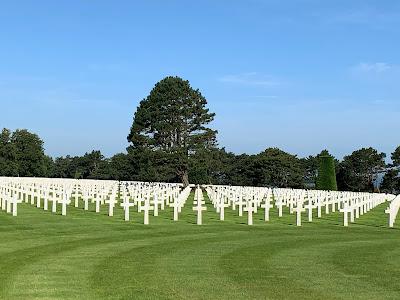 Cementerio estadounidense en Colleville-sur-Mer, Día D