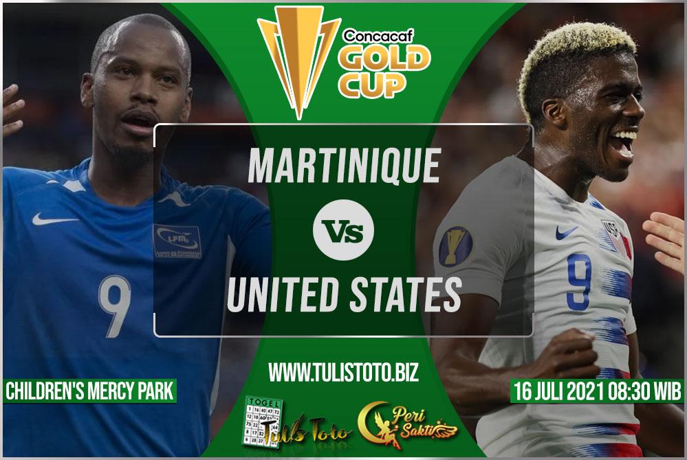 Prediksi Martinique vs United States 16 Juli 2021