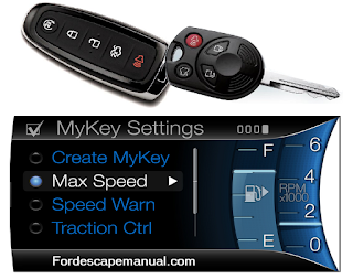 Ford Escape MyKey Setup and How to Use After Programming