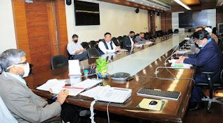 मुख्य सचिव की अध्यक्षता में अटल आवासीय विद्यालयों के निर्माण की प्रगति समीक्षा बैठक सम्पन्न