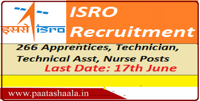 ISRO-ISAC Recruitment 2016, Application for Technician and Draughtsman at www.isro.gov.in, Last Date: 17-June-2016|ISRO-ISAC Recruitment 2016, Online Application, Notification for various post available at www.isro.gov.in: /2016/06/isro-isac-recruitment-2016-application-for-technician-and-draughtsman-online-application.html