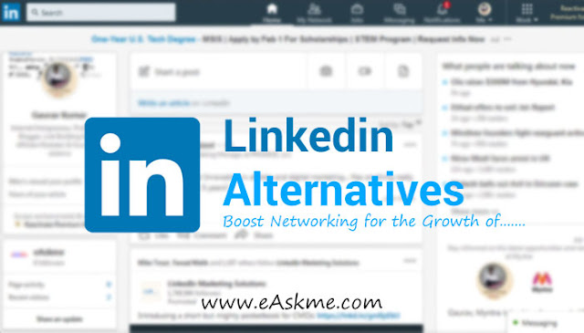 13 Best LinkedIn Alternatives to Grow more and Do More: eAskme