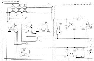 Электрическая схема шарового фотометра