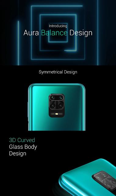 Redmi Note 9 Pro Max Design