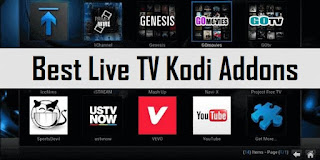 Best Live TV Kodi Addons