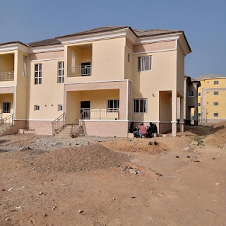 Pres. Buhari Completes The First Phase Of The 764 Housing Units In Abuja (photo)