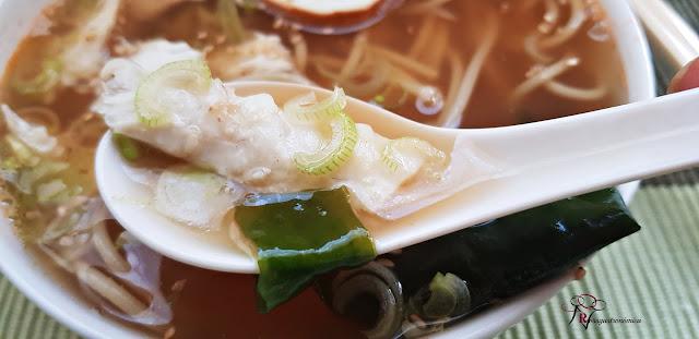 Sopa de pescado estilo Rammen