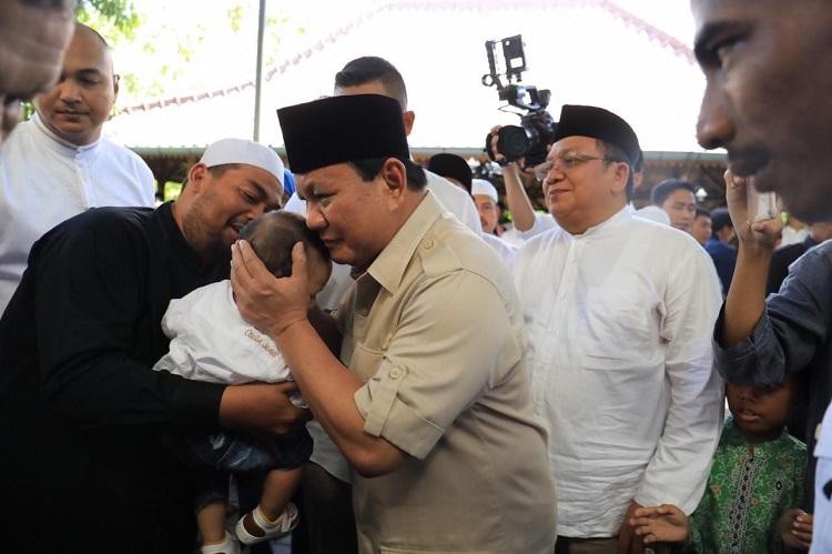 Terpuji, Ini Cara Prabowo Lewati Tahun 2018