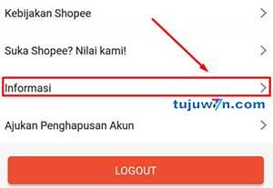 kode pembayaran shopeepay tidak muncul