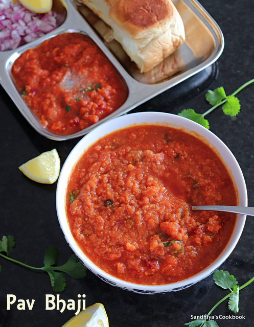 Homemade Pav Bhaji
