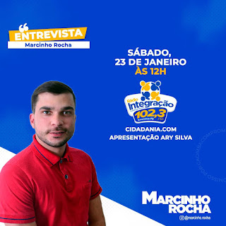 Macinho Rocha concede ao meio dia entrevista ao programa Cidadania.com  da Rádio Integração FM