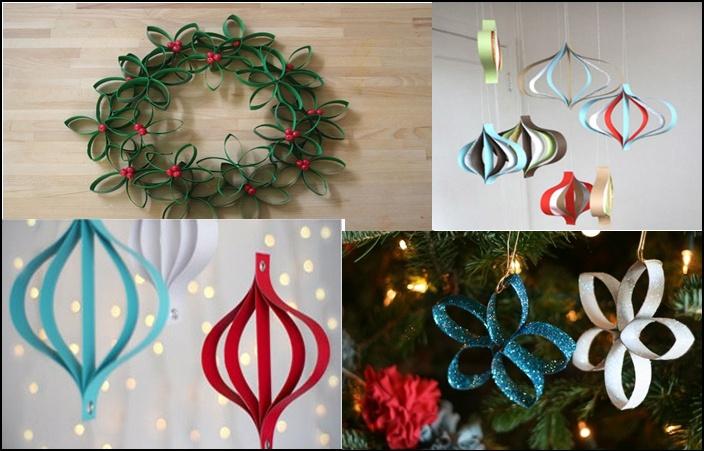 decoração natalina sem gastar