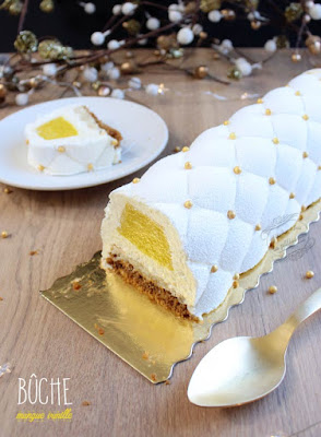 buche mangue vanille reveillon
