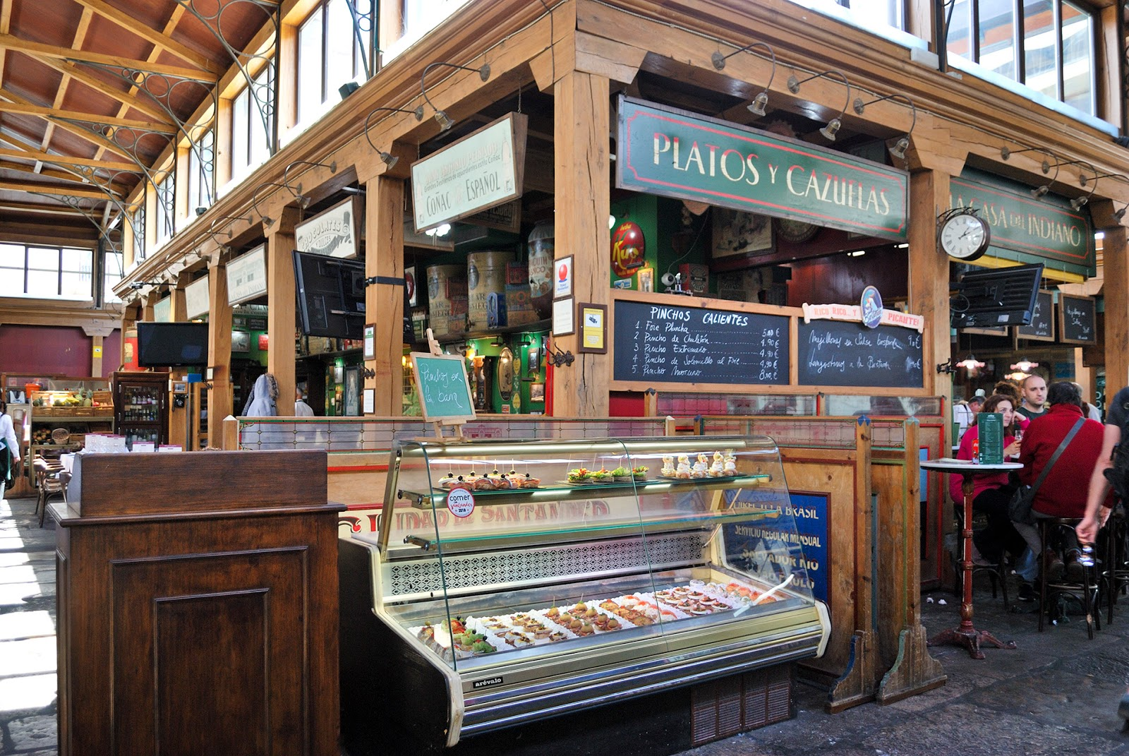 mercado del este pintxos tapas santander cantabria