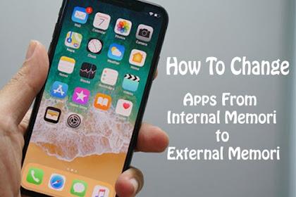 Cara Mudah Memindahkan Aplikasi dari Memori Internal ke SD Card