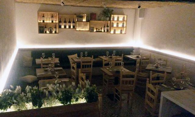 Restaurante Triana, comedor sótano