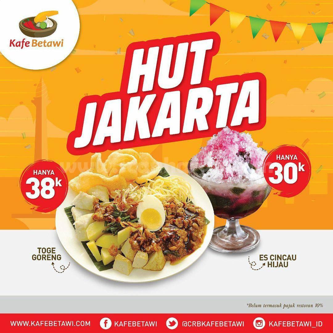 Kafe Betawi Promo HUT DKI JAKARTA