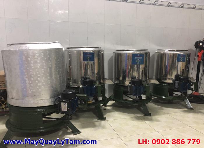 Máy vắt ly tâm sữa đậu nành, máy làm tinh bột nghệ... bằng nhôm hoặc inox theo yêu cầu
