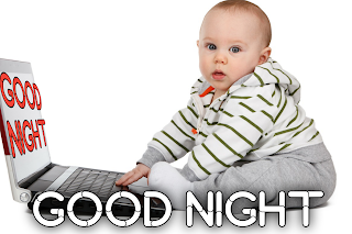 Baby good night image, good night baby image