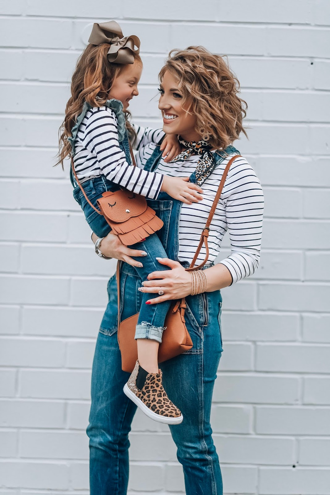 Mommy And Me Style: How To Style Overalls - Old Navy Overalls - Something Delightful Blog