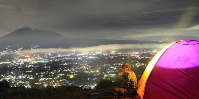 Camping Places That Spoil the Eyes of Mount Alesano Bogor