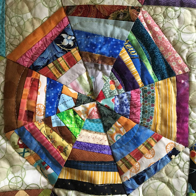 Christa Watson Angela Walters ultimate guide to machine quilting bonnie hunter string spider web spiral
