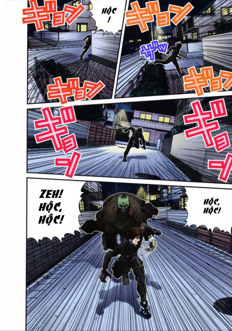 Gantz Chap 15: Nhảy hoặc chết trang 2