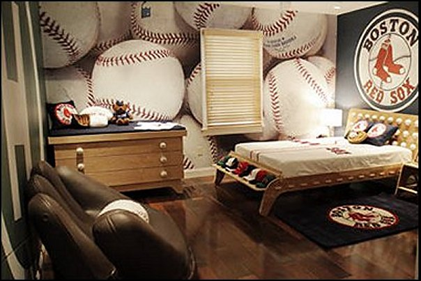 baseball bedrooms-baseball decor baseball room decorating ideas sports rooms