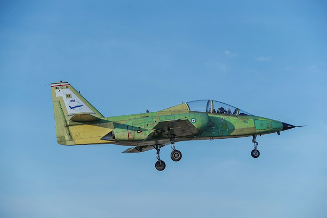 Iran unveils Yasin trainer jet