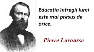 Maxima zilei: 23 octombrie - Pierre Larousse