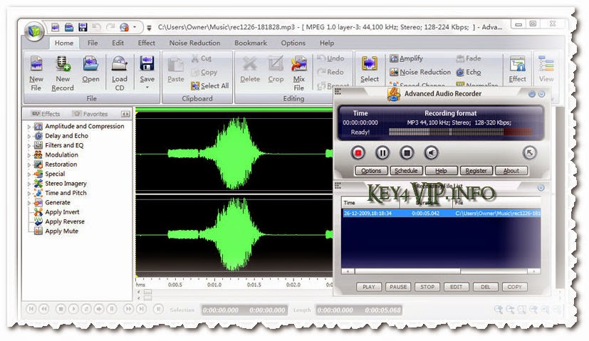 Advanced Audio Recorder 8.5.2 Full,Phần mềm ghi âm đa chức năng