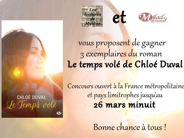 [Concours] Le temps volé de Chloé Duval