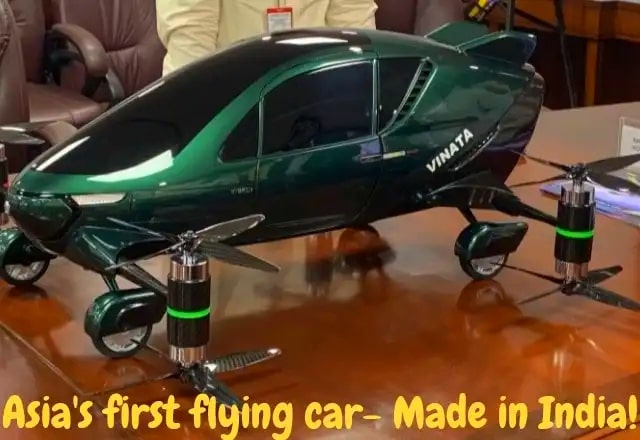 india-and-asia-first-hybrid-flying-car-launched