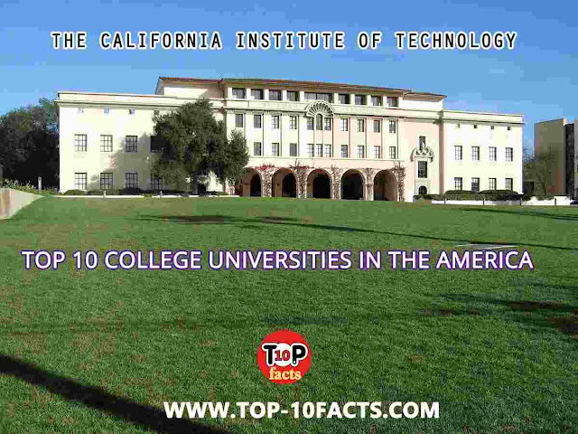 The California Institute of Technology USA