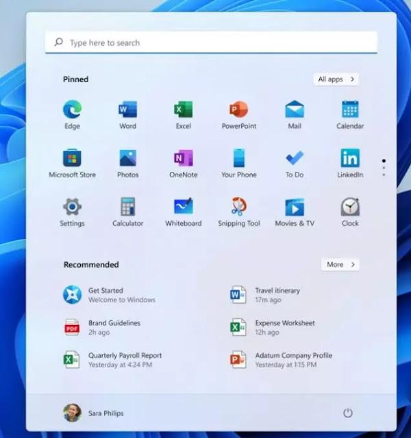 زوايا منحينة لكل نوافذ ويندوز 11 Windows