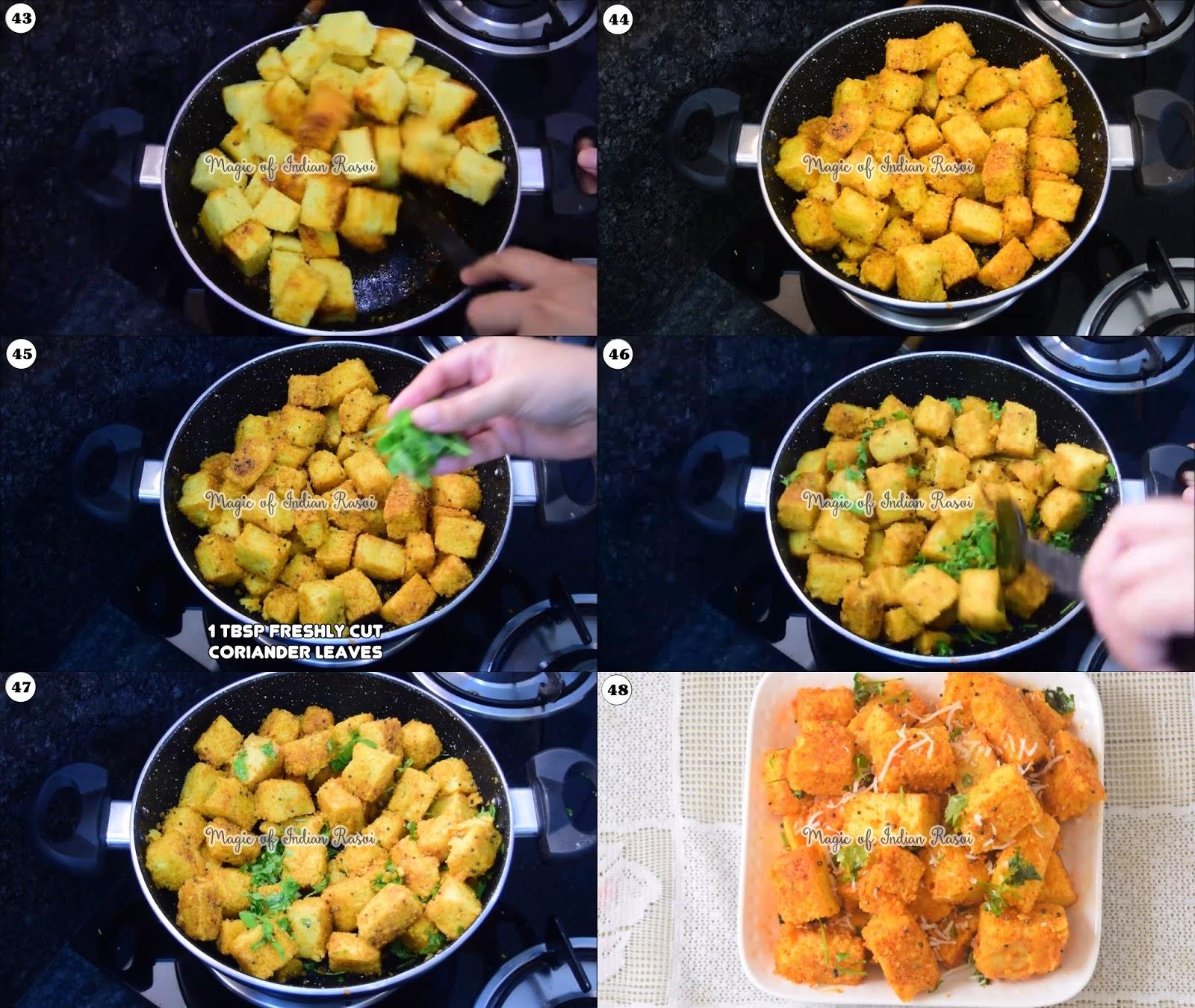 Tam Tam Khaman Dhokla Recipe - 9