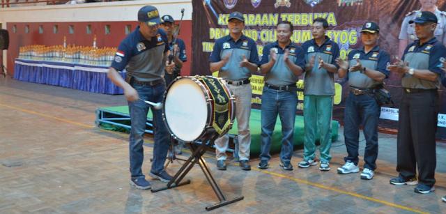 Kejuaraan Drumband Kapolres Cup Ponorogo 2020 oleh Cabor PDBI