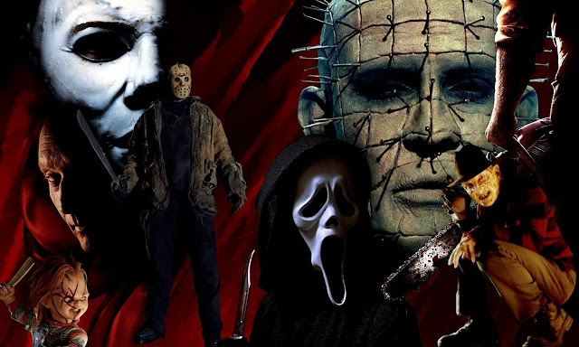 Wallpapers PC, Horror movie, collage