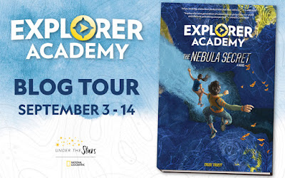 {Guest Post+Alaskan Cruise Giveaway} Explorer Academy: The Nebula Secret by Trudi Trueit